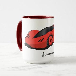 Caneca de café futura do carro de Electra