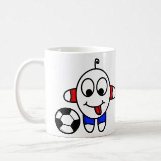 Caneca De Café gajo engraçado do futebol