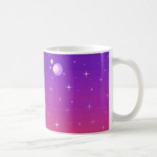 Caneca De Café Galáxia de Pixelated