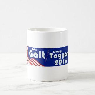 Caneca De Café Galt/Taggert - O atlas Shrugging