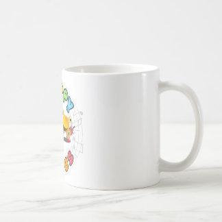 Caneca De Café Gama de produtos feliz do vírus