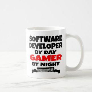Caneca De Café Gamer do programador de software