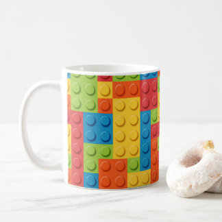 Caneca De Café Gamer - tijolos de bloqueio
