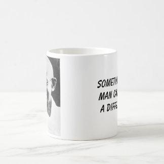 Caneca De Café Gandhi, diferença às vezes individual do makea da