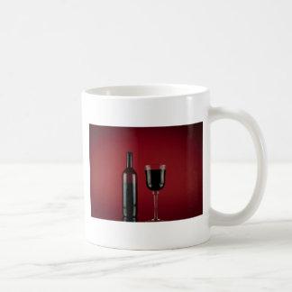 Caneca De Café Garrafa de vidro de vermelho de vinho