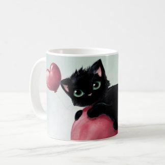 Caneca De Café Gato da caneca!