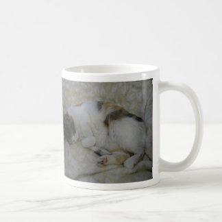 Caneca De Café Gato do sono - está demasiado adiantado…