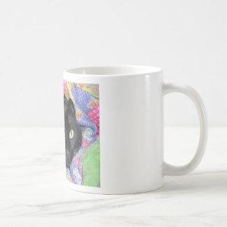 Caneca de café: Gato engraçado envolvido nas