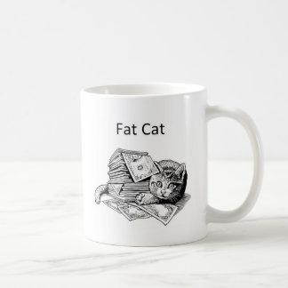 Caneca De Café Gato gordo