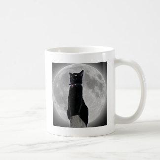 Caneca De Café Gato na lua