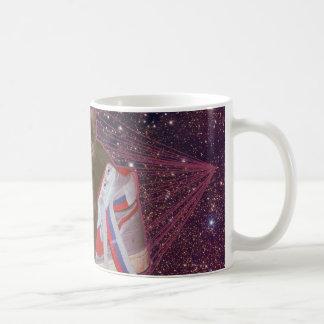 Caneca De Café Gato no espaço