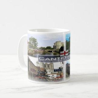 Caneca De Café GB Inglaterra - Canterbury -