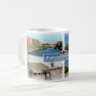 Caneca De Café GB Inglaterra - Norwich - Norfolk -