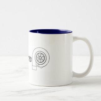 Caneca de café gêmea impulsionada de Turbo