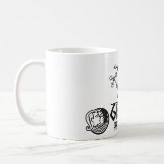 Caneca De Café Gêmeos do zodíaco