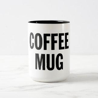 Caneca de café genérica