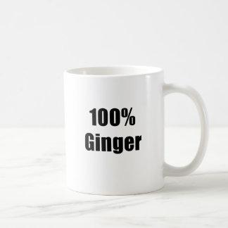 Caneca De Café Gengibre de 100 por cento