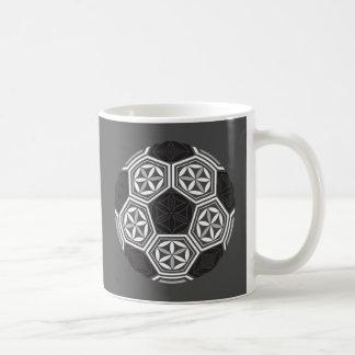 Caneca De Café geometria sagrado do futebol