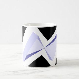 Caneca de café geométrica original