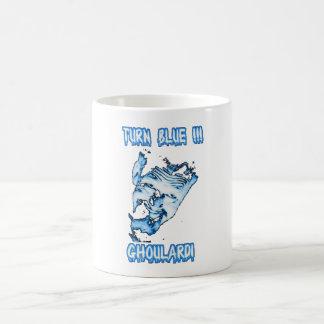 Caneca De Café Ghoulardi (volta azul/transparente) 11 onças.