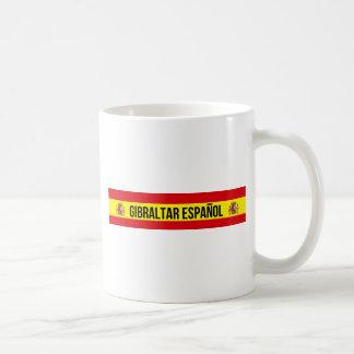 Caneca De Café Gibraltar Español - espanhol Gibraltar