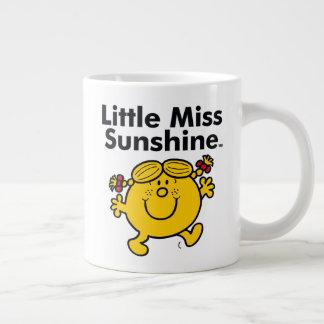 Caneca De Café Gigante A senhorita pequena pequena Luz do sol da
