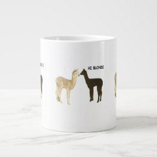 Caneca De Café Gigante Alpaca Cria
