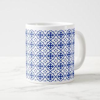 Caneca De Café Gigante Azul marroquino