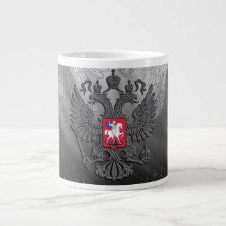 Caneca De Café Gigante Bandeira do símbolo do russo