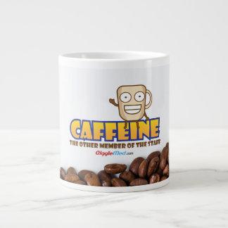 Caneca De Café Gigante Cafeína, o outro membro dos funcionarios