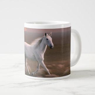 Caneca De Café Gigante Cavalo do por do sol