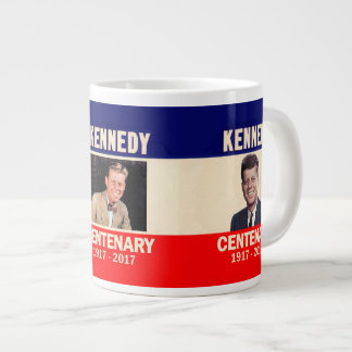 Caneca De Café Gigante Centenário 1917 - 2017 de Kennedy