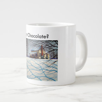 Caneca De Café Gigante Chocolate quente?