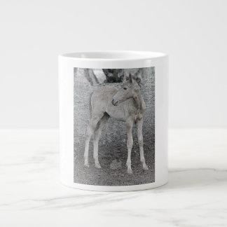 Caneca De Café Gigante Copo de café do cavalo selvagem