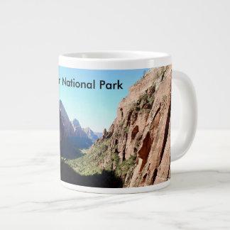 Caneca De Café Gigante Copo de café do parque nacional de Zion