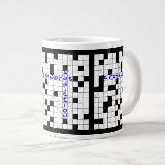 Caneca De Café Gigante Crosswords addiction