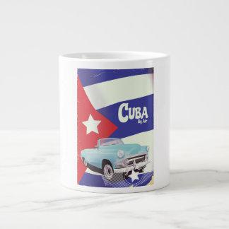 Caneca De Café Gigante Cuba pelo ar