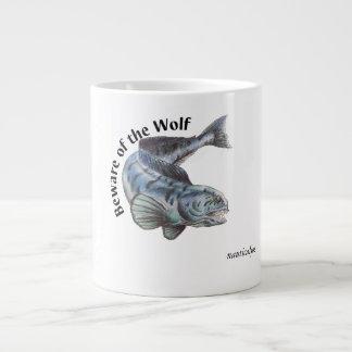 Caneca De Café Gigante desenho do lobo-marinho atlântico