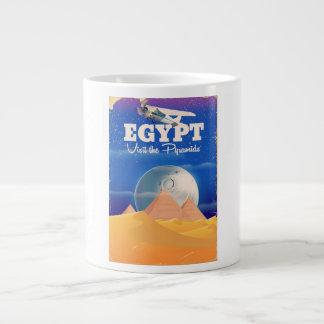 Caneca De Café Gigante Egipto - visite o poster das viagens vintage das