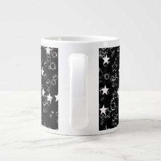 Caneca De Café Gigante Estrelas