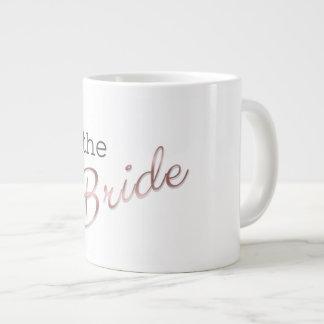 Caneca De Café Gigante Eu sou a noiva