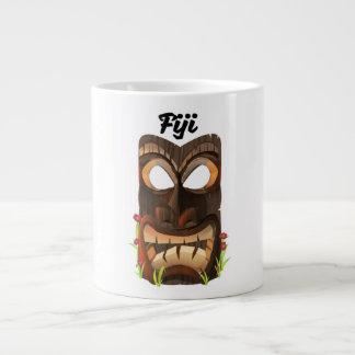 Caneca De Café Gigante Fiji cinzelou a máscara