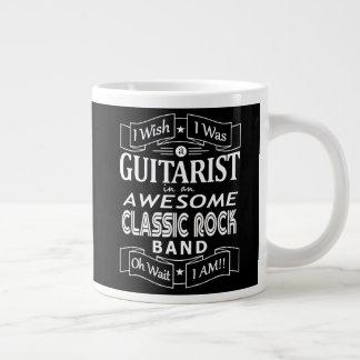 Caneca De Café Gigante Grupo de rock clássico impressionante do