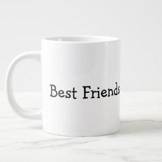 Caneca De Café Gigante Melhores amigos