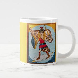 Caneca De Café Gigante Minerva /Athena - deusa da sabedoria