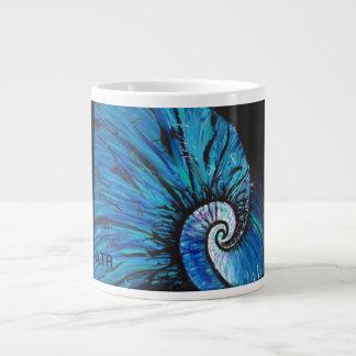 Caneca De Café Gigante Natulius azul