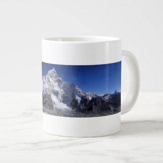 Caneca De Café Gigante Neve bonita poster tampado da cena das montanhas