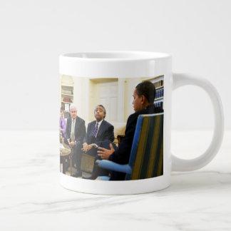 Caneca De Café Gigante Newt Gingrich, Barack Obama, Jarrett & Sharpton