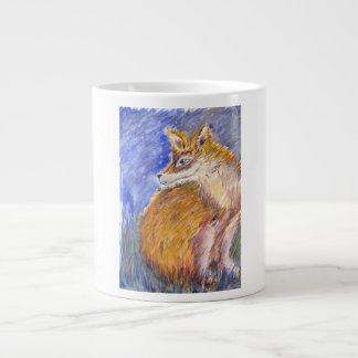Caneca De Café Gigante Noite Foxy