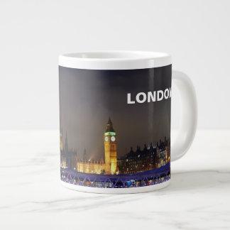 Caneca De Café Gigante Opinião BRITÂNICA do olho de Londres da paisagem
